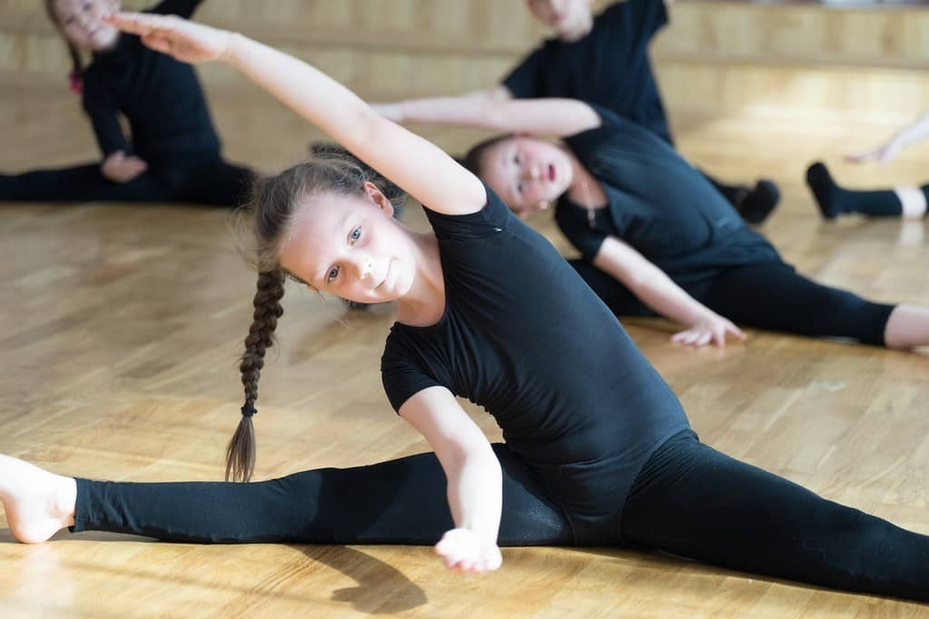 active children nutrition: girls need fuel for ballet practice