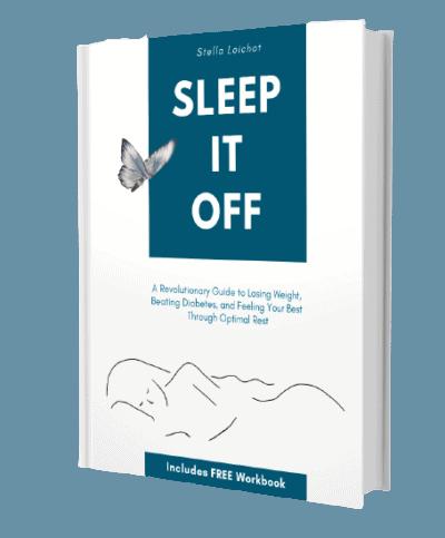 Sleep It Off Paperback Book 3-D shot
