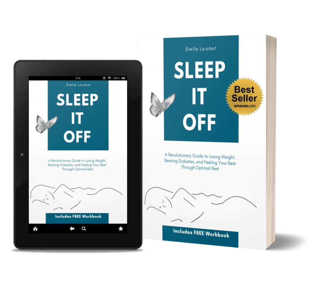 Sleep it Off kindle and paperback with best seller sticker