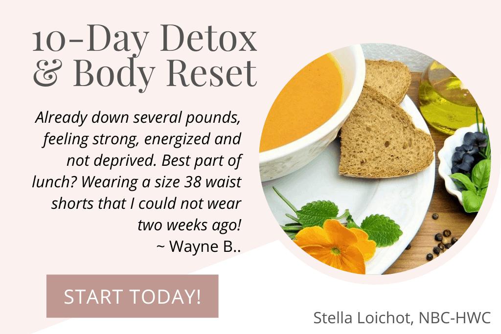 testimonial from Wayne B. for Detox Program